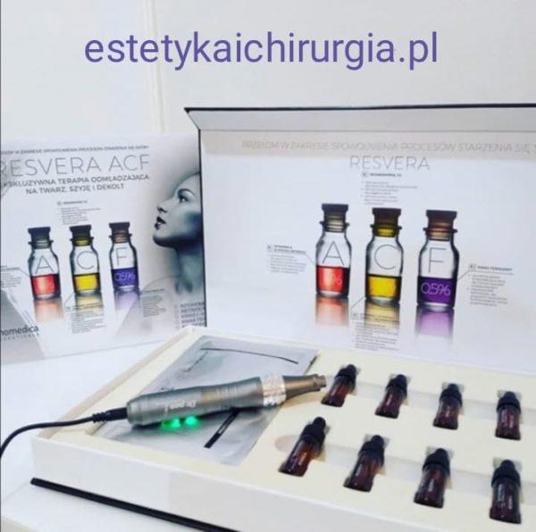 Resvera ACF – odżywczy koktajl dla skóry